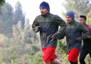 Pacquiao_Griffith_Park_run
